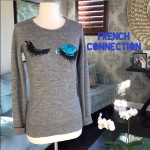 French Connection Winking Sweater